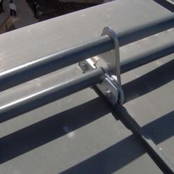 Снегозадържане за покриви от ламарина и термопанели