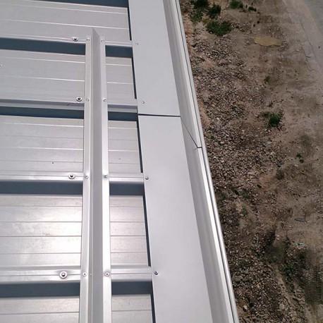 Снегозадържане за покриви от термопанели и LT ламарина
