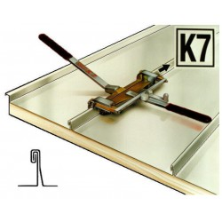 Огъвачка за скопчаване на двоен фалц K7 250 mm